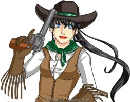 Kagome the Outlaw by FoxOfTwilight