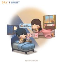 Day and Night by hjstory