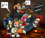 Sonic - Warehouse Junks by Tigerfog