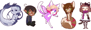 lil chibi pchat pile by CookieHana