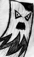 Angry Tree Man (who may also be Hitler) by AdamCastle