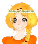 Annabeth Chase flower crown by Art-goddess-not