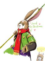 E. Aster Bunnymund by Fairy-Apple