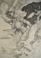 Shanna the She Devil SDCC2011 by TerryDodson