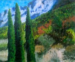 Cezanne by christinaks