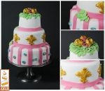 Inspiration Marie Antoinette by Paint Cakes by Paintcakes