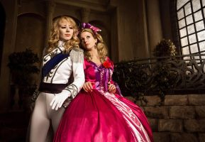 Rose of Versailles: On Her Majesty's Service by BrutalMiladyMara