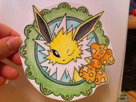 Jolteon Mini by sazmullium