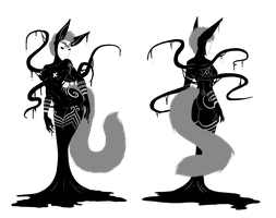 Shadowsona Auction - The Masked Kitsune - CLOSED by ShadowInkWarrior