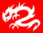 Dragon Heroes Flag by Dreams-hold-Ambition