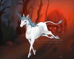 My Last Unicorn by Gingerspainting