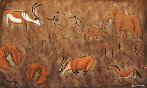Cave paintings by Louisetheanimator