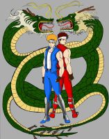 double dragon 01 by myroboto