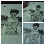 My Ryuk Drawing by xWatashiWaMizerablex