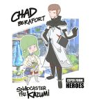 Esper Form Heroes: Chad and Fitz by emarcellus