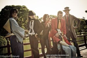 Team LupinIII Cosplay Feb2014 photo01 by Vectorolon