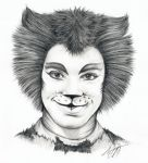 Mr. Mistoffelees Cats Sketch by Skimbleshanks2