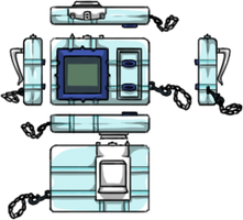 Digivice transformation by Cachomon