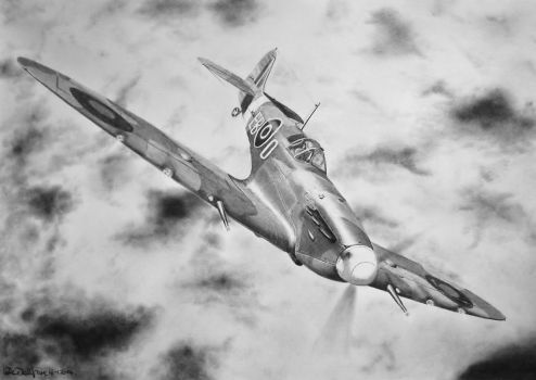 Spitfire ( on attack ) by Steve2656