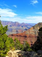 The Grand Canyon by Kaligem