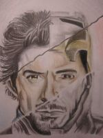 Sherlock Stark (Robert Downey Jr.) by lolbenjo