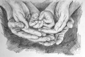 hand in hand in hand by marcobusoni