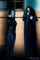 Death Eater Duo by Sam-wyat