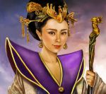 Jade emperor - the Queen Mother by crayonmaniac