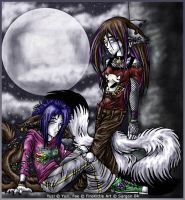 Moonlight Sisters by Sargon-The-Dark