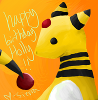 Ampharos by naegamis