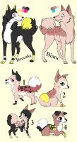 Breedable Pups Adoption 9 CLOSED by MichelsAdoptions