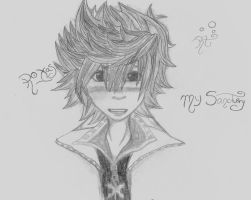 Roxas by Someone-that-is-me