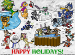 OC After-Christmas Party 2013 by Thyloguy