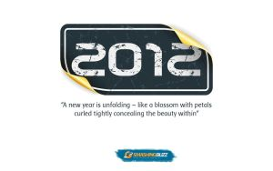 Excellent New Year 2012 Widescreen Wallpaper by kashifmughal