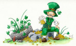 St Patrick day by Naa-