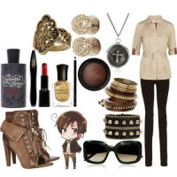 Fem!Romano's outfit by epicperson87