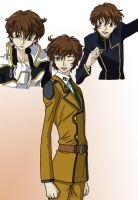 Code Geass Suzaku by AsherothTheDestroyer
