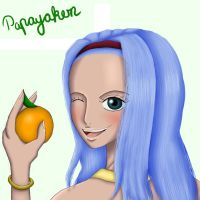 An Orange a day by Papayakern