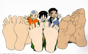 Team Avatar (Gang) by murati2882 by neverb4
