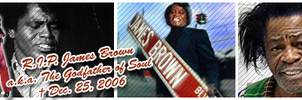 R.I.P. James Brown by jayem187