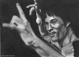 Bruce Lee by Tomdal