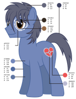 Clutterstep Color Guide by MLP-Silver-Quill