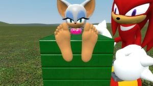 New Rouge and Knuckles 2 by wantwon