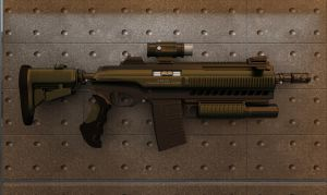 ST 110 AUTOMATIC PRIVATE RIFLE by junkscribe