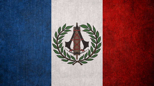 Assassin's Creed: French Revolutionary Flag by okiir