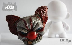Masks of Doom: Evil Clown by PatrickL
