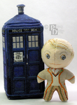 The Fifth Doctor 3D Cross Stitch Doll by rhaben