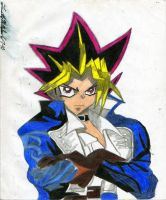 Yami Yugi As Richter Belmont by AuronTsubaki1985