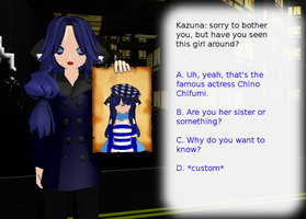 Kazuna Sim Date... Kinda :Trap?: by Wife-Of-Legolas