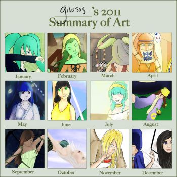 2011 Summary of Art by gibsos